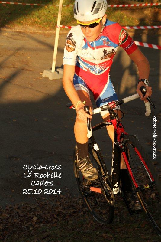 Cyclo-cross La Rochelle Cadets 25.10.2014