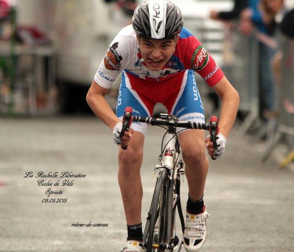 La Rochelle Libération Ecoles de Vélo Sprints 08.05.2015