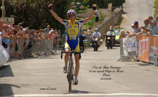 Tour de Haute Saintonge 10eme Manche Coupe de France Dames 05.07.2015