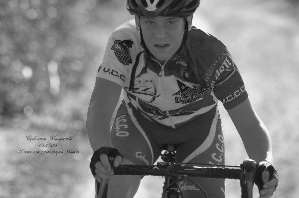 Cyclo-cross Maqueville 08.11.2015 jeunes toutes catégories jusqu'à Cadets