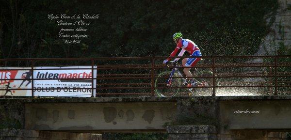 Cyclo-Cross de la Citadelle Chateau d'Oléron première édition 21.11.2015