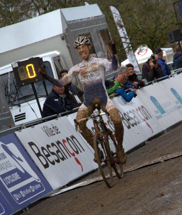 Championnat de France Cyclo cross catégorie Espoirs à Besançon 9/10 janvier 2016
