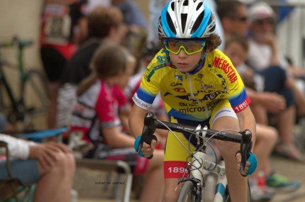 Ecole de vélo St Radegonde 05.06.2016 Sprints
