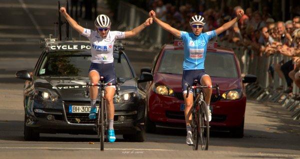 Présentation équipes et 3eme étape Tour Charente Maritime Dames 31.07.2016