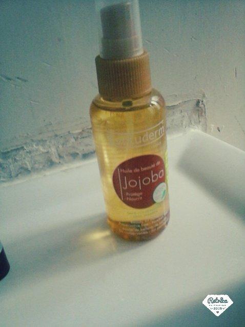 """évoluderm """"huile de jojoba"""" :("""