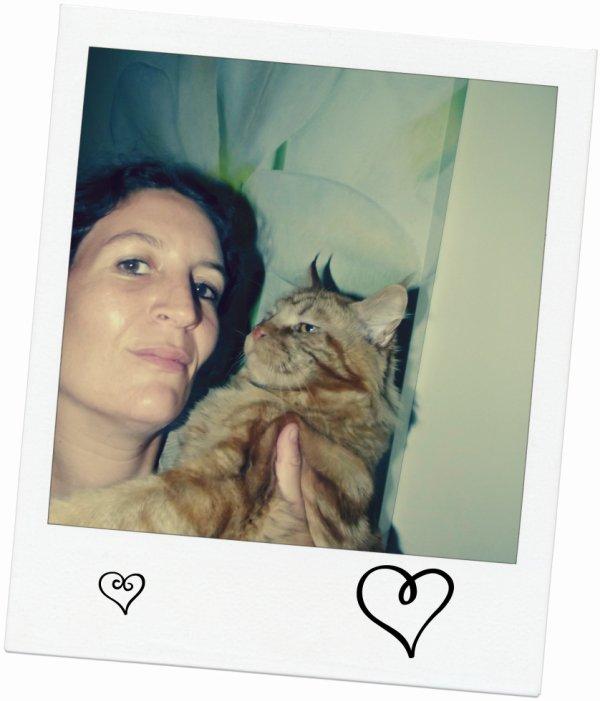 Moi et mon Garfield !