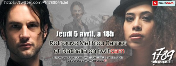 CHAT EN DIRECT AVEC NATHALIA ET MATHIEU