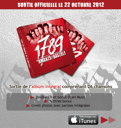 ALBUM 1789 AMANTS LA DE BASTILLE TÉLÉCHARGER LES
