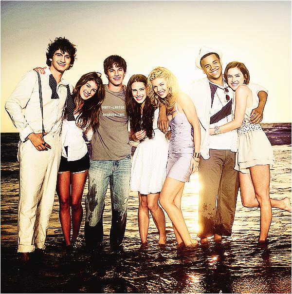 Re-découvrez un photoshoot promotionnelle de la série 90210 saison 2 avec Matt Lanter !