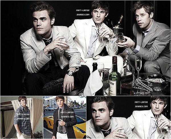 Découvrez un shoot de Matt Lanter avec Paul Wesley datant de 2010! Qu'en pensez vous ?