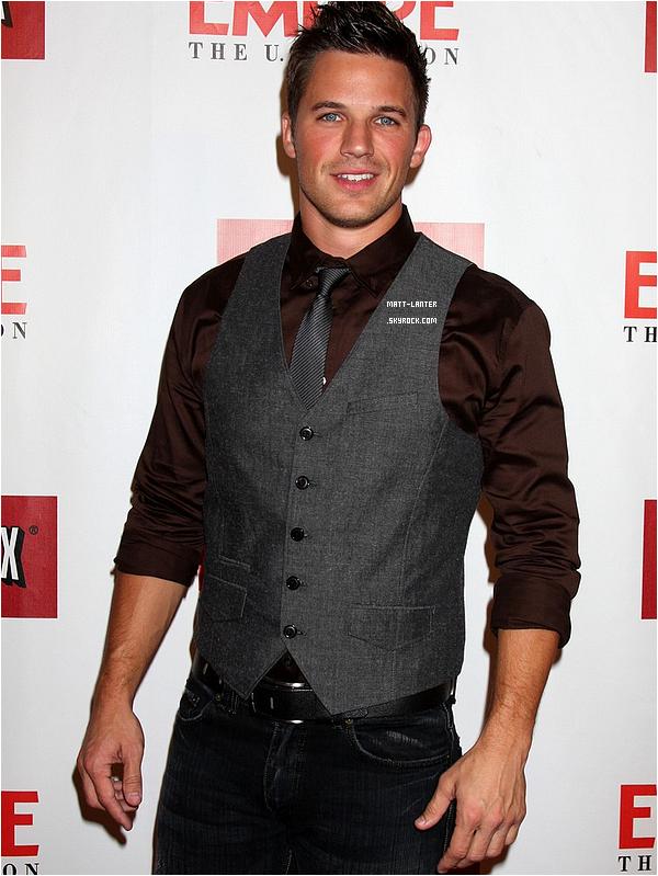 Le 02/10/2012 -  Matt était à l'évènement organisé par le magazine Empire pour la soirée de lancement iPad à West Hollywood, en Californie.Top: ✰✰✰✰✰