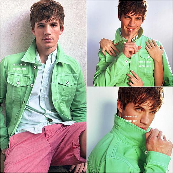 Photoshoot -   Des nouvelles photos d'un shoot de Matt datant de 2011 vienne de faire apparition dans son intégralité. (Article associé).   Top: ✰✰✰✰✰