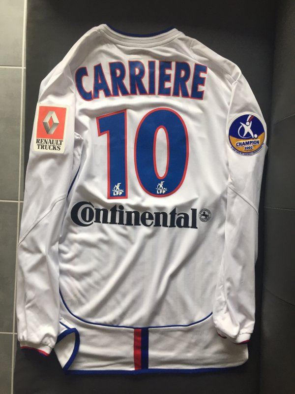 Maillot Home 2002/2003, Eric Carrière