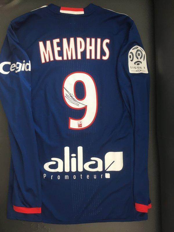 Maillot Away 2016/2017, Memphis Depay