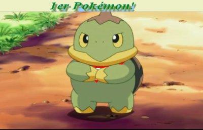 1er Pokémon!