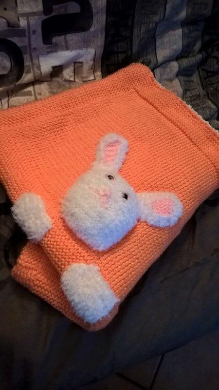 couverture pour le lit de bebe