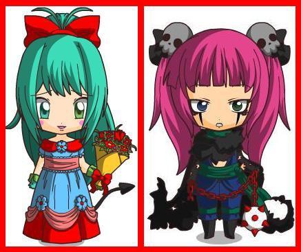 9. ORTENSIA Carie (Cassie & Carmen) {Katsuki}
