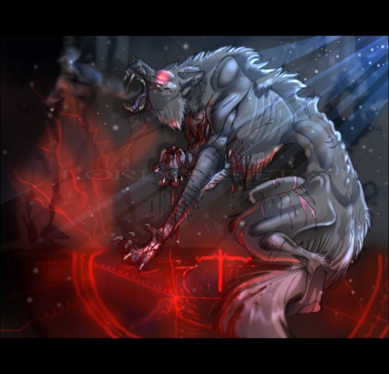 Animaux mythiques : Le lycanthrope.