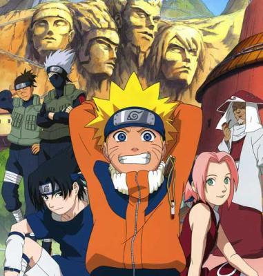 Naruto, 1ère Partie du récit