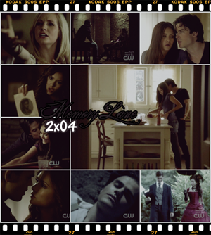 _  Memory Lane 2x04  THE VAMPIRE DIARIES  _