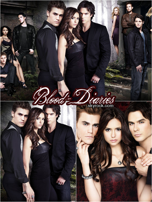 _  Photoshoot promotionnelle de VAMPIRE DIARIES  _