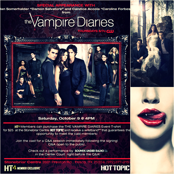 _  Convention TRUE BLOOD & VAMPIRE DIARIES  _