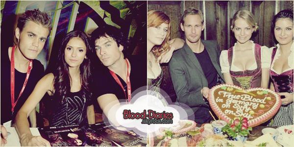 _  Comic Con Vampire Diaries & News True Blood  _