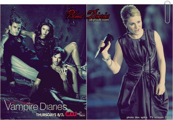 _  True Blood nominé au Spike TV Scream Révélation de l'épisode 7 de Vampire Diaries  _