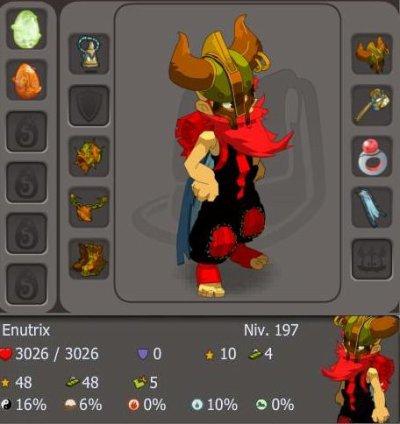 Enutrix : Enutrof niveau 200