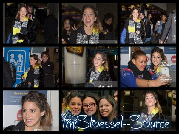 Article Tini a Paris!!