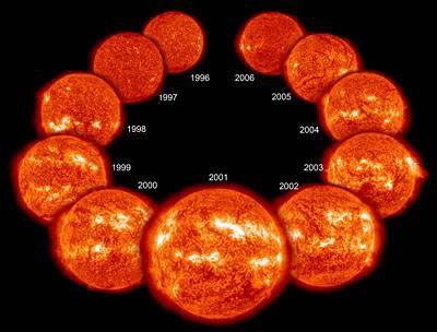 SOHO observe le Soleil depuis 12 ans