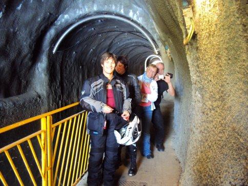 découverte....canal souterrain vers Besançon