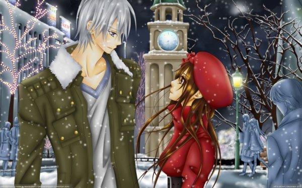 << Yuuki ton regard s'attendri quand tu pose les yeux sur moi mais derrière les apparences je sais que tu n'en as que pour lui . . . >>