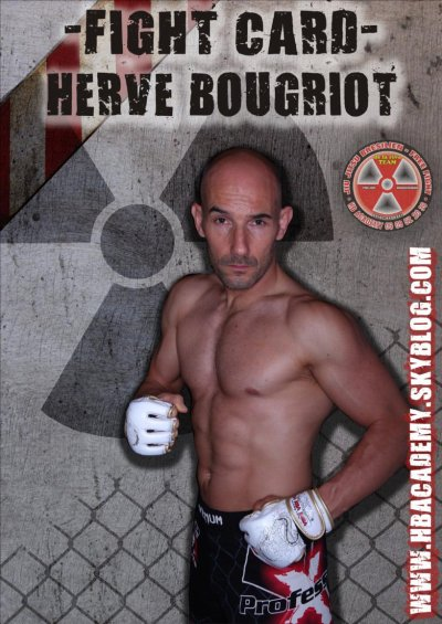 FIGHT CARD HERVE BOUGRIOT