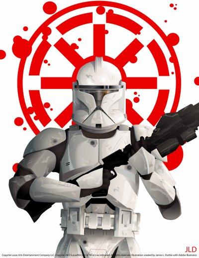 Clone trooper phase 1