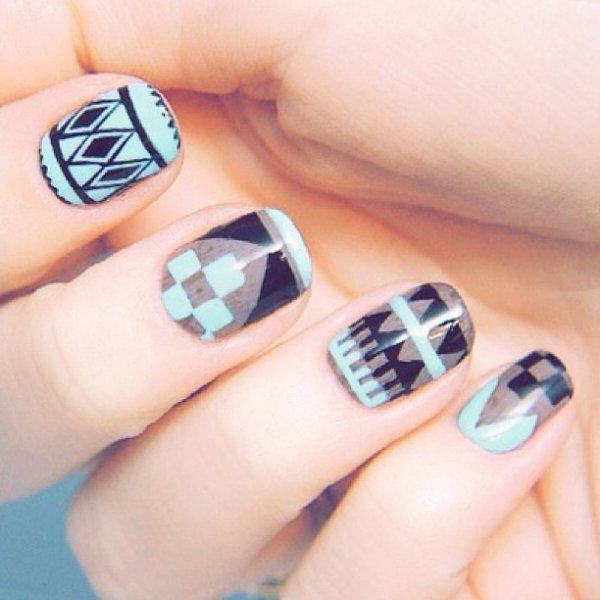 Les nail art legging <3