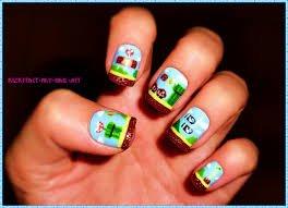 Nail art Mario <3