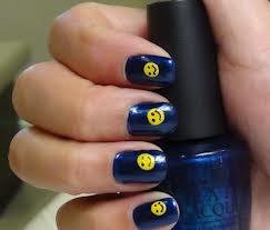 Nail art Smiley <3