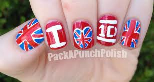 Nail art One Direction <3