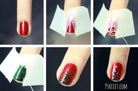 Nail art pour Noel <3