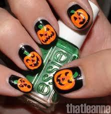 Nail art pour Halloween <3
