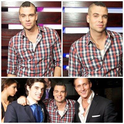 EVENTS 3 juin 2011 - Après le Concert Glee Live Tour ! à Chicago, Mark a assisté à l'évenement HOT 100 WEEK 3 à l'Enclave.
