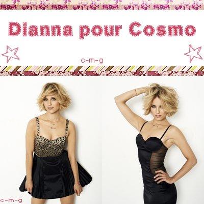La Belle Dianna a posé pour le magazine Cosmo . Elle nous offre un magnifique shoot .