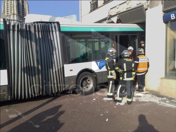 Les accidents des conducteurs de bus de la RATP.