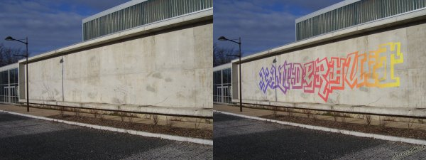 Tutoriel Comment Comment Taguer Un Mur Avec Photoshop CS6 ​