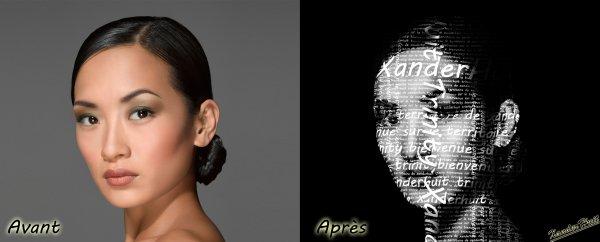 Tutoriel Typographié Un Portrait Avec Photoshop CS6 