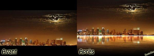 Tutoriel Créer Le Reflet D'une Image Dans L'eau Avec Photoshop CS6 Extended  