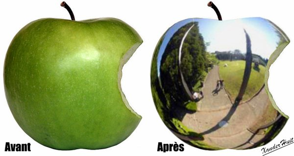 Tutoriel Métalliser Un Fruit Avec Photoshop CS6 Extended ​