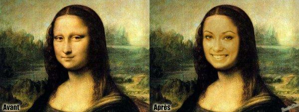 Tutoriel Changer Le Portrait De La Joconde Avec Photoshop CS6 Extended 