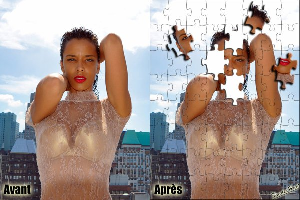 Tutoriel Transformer Une Photo En Puzzle Avec Photoshop CS6 Extended ​